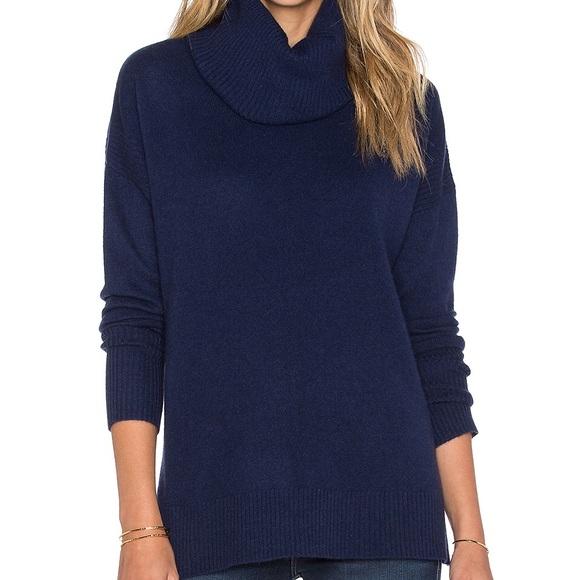 DVF Ahiga Slim 2 Cashmere Turtleneck Sweater